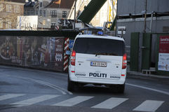 ΔΑΝΙΚΗ ΑΣΤΥΝΟΜΙΑ DASKE POLITI Στοκ φωτογραφία με δικαίωμα ελεύθερης χρήσης