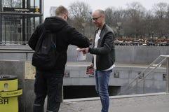 ΔΑΝΙΚΗ ΗΜΕΡΑ ΣΥΛΛΟΓΗΣ ΚΑΡΚΙΝΟΥ Στοκ φωτογραφία με δικαίωμα ελεύθερης χρήσης