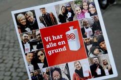 ΔΑΝΙΚΗ ΗΜΕΡΑ ΣΥΛΛΟΓΗΣ ΚΑΡΚΙΝΟΥ Στοκ εικόνα με δικαίωμα ελεύθερης χρήσης