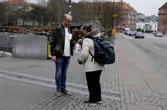 ΔΑΝΙΚΗ ΗΜΕΡΑ ΣΥΛΛΟΓΗΣ ΚΑΡΚΙΝΟΥ Στοκ εικόνες με δικαίωμα ελεύθερης χρήσης