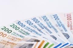 Δανικοί λογαριασμοί κορωνών Στοκ φωτογραφία με δικαίωμα ελεύθερης χρήσης
