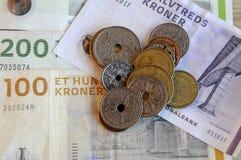 ΔΑΝΙΚΟ ΝΟΜΙΣΜΑ KRONERS Στοκ εικόνες με δικαίωμα ελεύθερης χρήσης