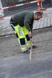 Δανικό εργατικό δυναμικό εργασίας Στοκ Φωτογραφίες