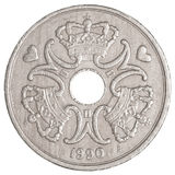 Δανικό νόμισμα κορωνών Στοκ φωτογραφία με δικαίωμα ελεύθερης χρήσης
