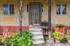 δανικό σπίτι παλαιό Στοκ Εικόνες