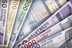 Δανικό υπόβαθρο ακρών κορωνών Στοκ Εικόνες