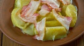 Δανικό χοιρινό κρέας της Apple Στοκ φωτογραφίες με δικαίωμα ελεύθερης χρήσης