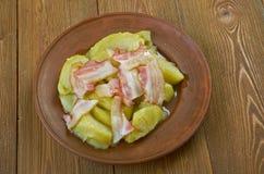 Δανικό χοιρινό κρέας της Apple Στοκ Φωτογραφία