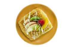 Δανικό ψωμί της Apple Στοκ Εικόνες