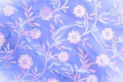 Δαντέλλα που διακοσμείται ρόδινη με τα λουλούδια ο στοκ φωτογραφίες με δικαίωμα ελεύθερης χρήσης