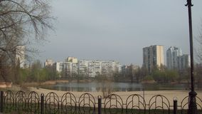 Δαντέλλα στην περιοχή Obolon, Κίεβο στοκ φωτογραφίες με δικαίωμα ελεύθερης χρήσης
