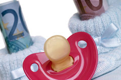 Δαπάνες για ένα μωρό Στοκ φωτογραφίες με δικαίωμα ελεύθερης χρήσης