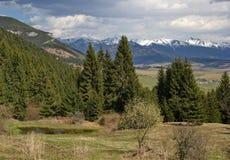 Δασικά βουνά λιμνών και Tatras, Liptov, Σλοβακία Στοκ εικόνα με δικαίωμα ελεύθερης χρήσης