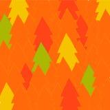 Δασική ανασκόπηση φθινοπώρου Στοκ εικόνα με δικαίωμα ελεύθερης χρήσης