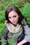 δασική γυναίκα υπολοίπων Στοκ φωτογραφία με δικαίωμα ελεύθερης χρήσης