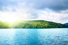 δασική λίμνη Στοκ φωτογραφίες με δικαίωμα ελεύθερης χρήσης