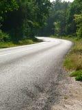δασικός δρόμος Στοκ φωτογραφία με δικαίωμα ελεύθερης χρήσης