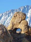δασικός εθνικός βράχος inyo τρυπών Στοκ εικόνες με δικαίωμα ελεύθερης χρήσης