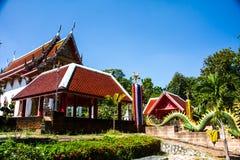 Δασικός ναός Ταϊλανδός Στοκ φωτογραφία με δικαίωμα ελεύθερης χρήσης