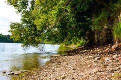 Δασικός ποταμός Landrocks στοκ φωτογραφία με δικαίωμα ελεύθερης χρήσης