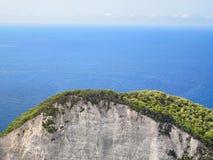 Δασικός λόφος θαλασσίως Στοκ Φωτογραφίες