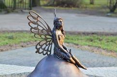 Δασικό άγαλμα νεράιδων Kaliningrad, Ρωσία Στοκ εικόνες με δικαίωμα ελεύθερης χρήσης