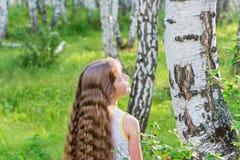 δασικό κορίτσι λίγα Στοκ εικόνα με δικαίωμα ελεύθερης χρήσης