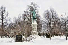 Δασικό νεκροταφείο χορτοταπήτων Στοκ εικόνα με δικαίωμα ελεύθερης χρήσης