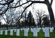 Δασικό νεκροταφείο Hill Στοκ φωτογραφίες με δικαίωμα ελεύθερης χρήσης