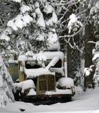 δασικό παλαιό truck Στοκ φωτογραφία με δικαίωμα ελεύθερης χρήσης