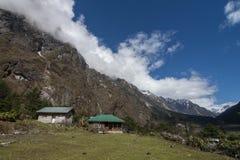 Δασικό σπίτι υπολοίπου στην κοιλάδα Yumthang, Lachung, Sikkim, Ινδία στοκ εικόνες