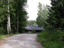 Δασικό σπίτι Στοκ Εικόνες