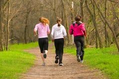 δασικό τρέξιμο Στοκ εικόνες με δικαίωμα ελεύθερης χρήσης