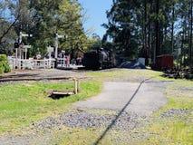 Δασικό τραίνο της Μελβούρνης στοκ εικόνα με δικαίωμα ελεύθερης χρήσης