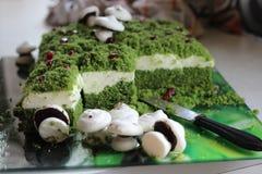 Δασικό χαμόκλαδο κέικ Στοκ Εικόνες