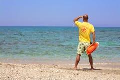 δασμός lifeguard Στοκ φωτογραφία με δικαίωμα ελεύθερης χρήσης