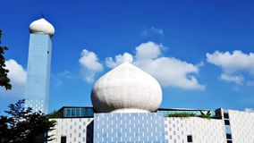 Δασώδεις περιοχές ναυαρχείο Rd Σιγκαπούρη ένας-Nur Masjid στοκ φωτογραφίες