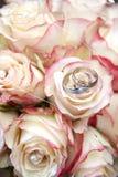δαχτυλίδια ανθοδεσμών Στοκ φωτογραφία με δικαίωμα ελεύθερης χρήσης