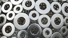 δαχτυλίδια ανοξείδωτα Στοκ εικόνες με δικαίωμα ελεύθερης χρήσης