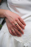 δαχτυλίδια αρραβώνων Στοκ Φωτογραφία
