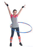 δαχτυλίδια γυμναστικής & Στοκ εικόνα με δικαίωμα ελεύθερης χρήσης