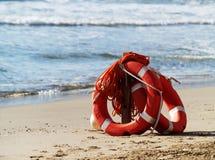 δαχτυλίδια διάσωσης ζωή&sig Στοκ Εικόνα
