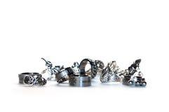 δαχτυλίδια μεταλλοφόρων κοιτασμάτων Στοκ Εικόνες