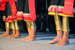 δαχτυλίδια ποδιών ορείχαλκου Στοκ Εικόνα