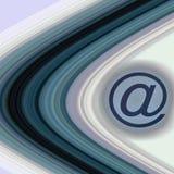 δαχτυλίδια ταχυδρομεί&omicr διανυσματική απεικόνιση