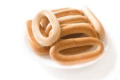 δαχτυλίδια ψωμιού Στοκ φωτογραφία με δικαίωμα ελεύθερης χρήσης