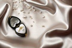 δαχτυλίδι αγάπης Στοκ Εικόνα