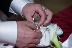 δαχτυλίδι ανταλλαγής Στοκ εικόνα με δικαίωμα ελεύθερης χρήσης