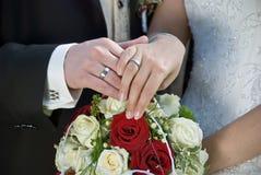 δαχτυλίδι ανταλλαγής Στοκ φωτογραφία με δικαίωμα ελεύθερης χρήσης