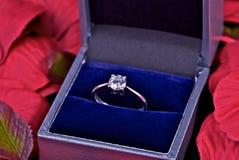 δαχτυλίδι αρραβώνων Στοκ εικόνα με δικαίωμα ελεύθερης χρήσης